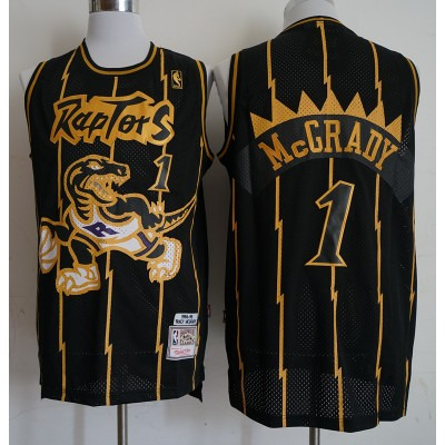 Tracy McGrady Toronto Raptors Black & Gold Special Edition Jersey