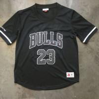 Michael Jordan Chicago Bulls Mitchell & Ness Sleeved Jersey - Super AAA Quality