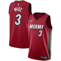 Dwyane Wade Miami Heat Red Jersey