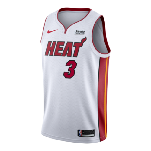 size 40 e14aa 7b349 Dwyane Wade Miami Heat Black Jersey