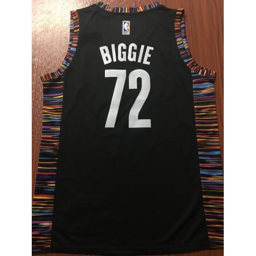 promo code 00e10 f0989 Biggie Smalls Brooklyn Nets Special Edition 2018-19 City ...