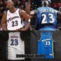 Michael Jordan Washington Wizards Jerseys