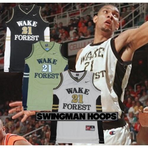 buy online 78988 d320d Tim Duncan Wake Forest NCAA Jerseys