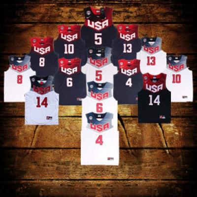 2014 USA FIBA World Cup Jerseys